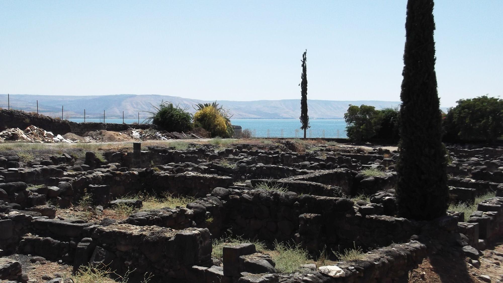 Izrael - Kafernaum - zdjęcia, atrakcje