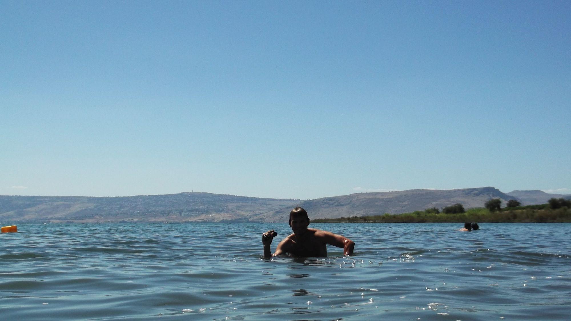 Izrael - Jezioro Galilejskie - zdjęcia, atrakcje