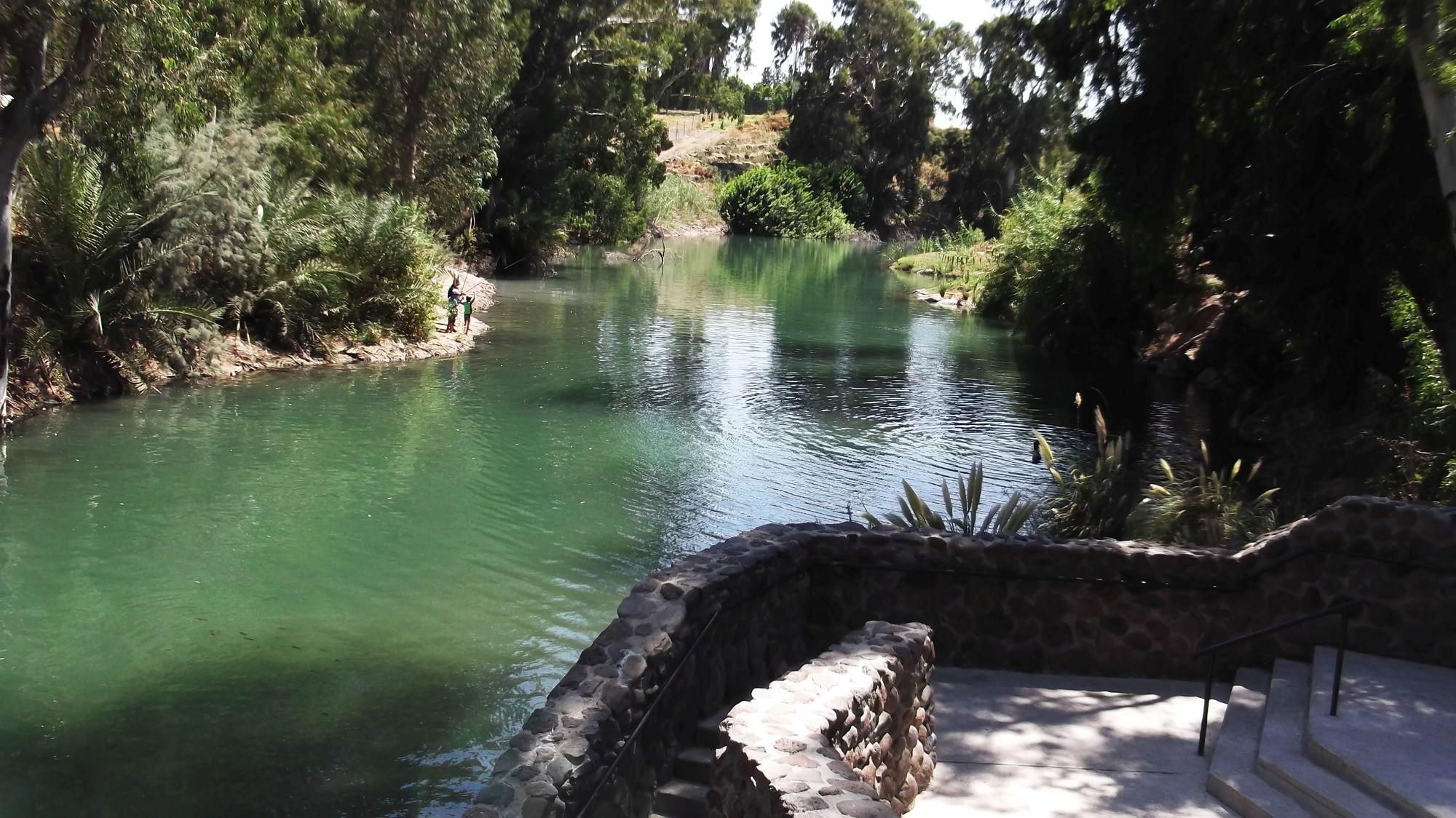Izrael - Rzeka Jordan Yardenit - zdjęcia, atrakcje