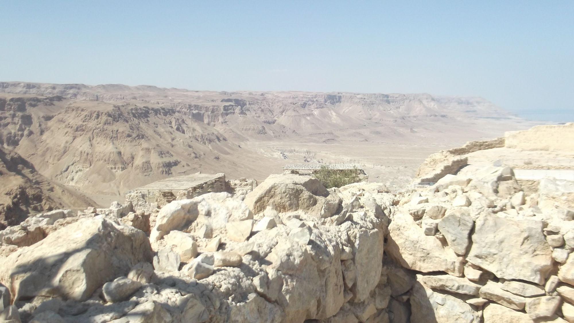Izrael - Masada - zdjęcia, atrakcje