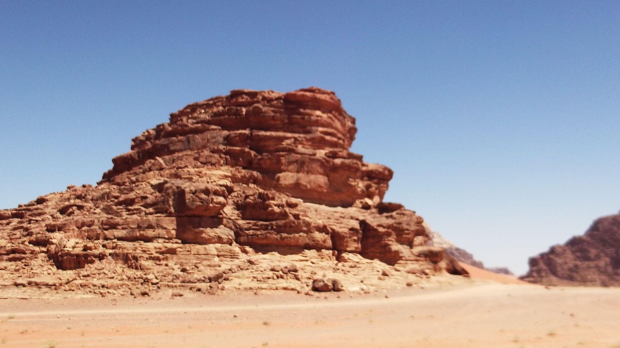 Jordania - Pustynia Wadi Rum część 1 - zdjęcia, atrakcje