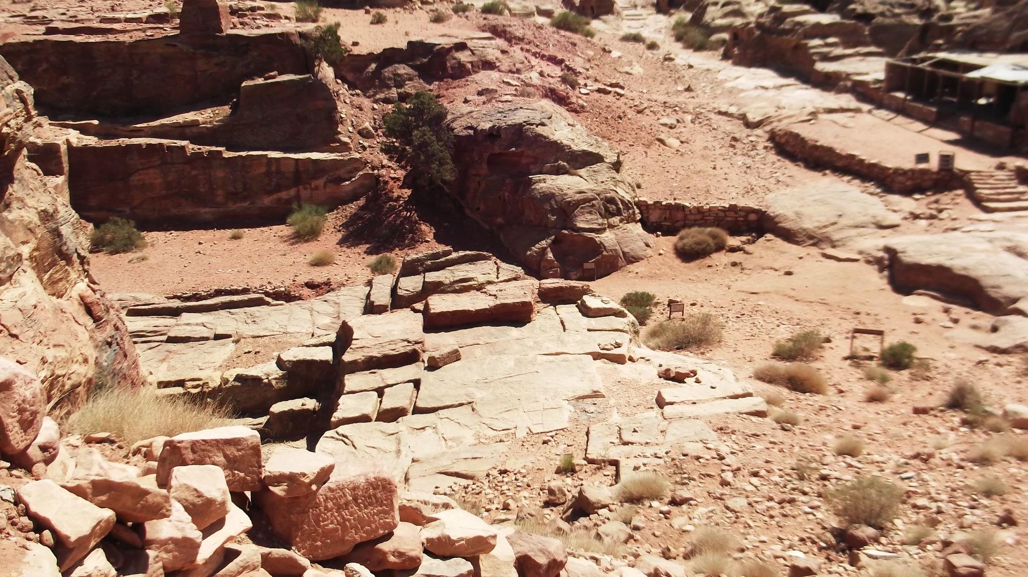 Jordania - Petra część 1 - zdjęcia, atrakcje