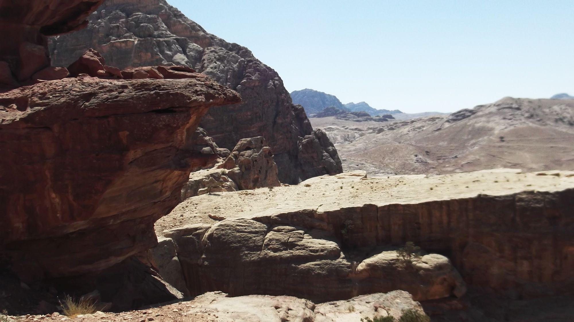 Jordania - Petra część 2 - zdjęcia, atrakcje