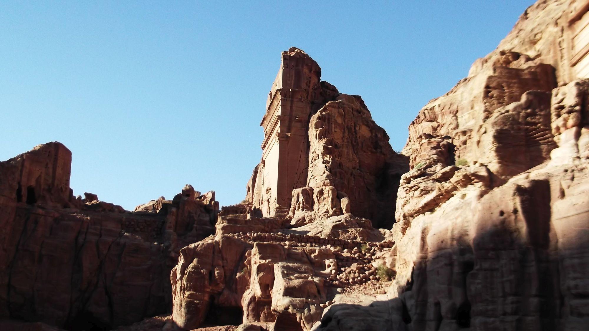Jordania - Petra część 3 - zdjęcia, atrakcje