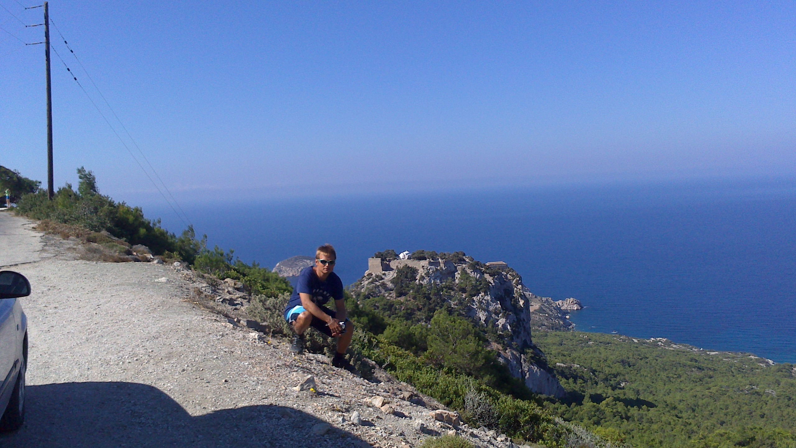 Rodos - Monolithos - zdjęcia, atrakcje