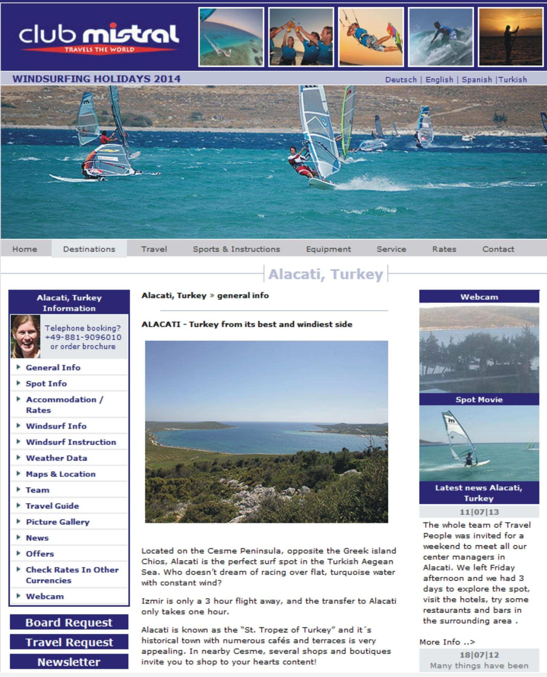 alacati szkoła windsurfing kitesurfing