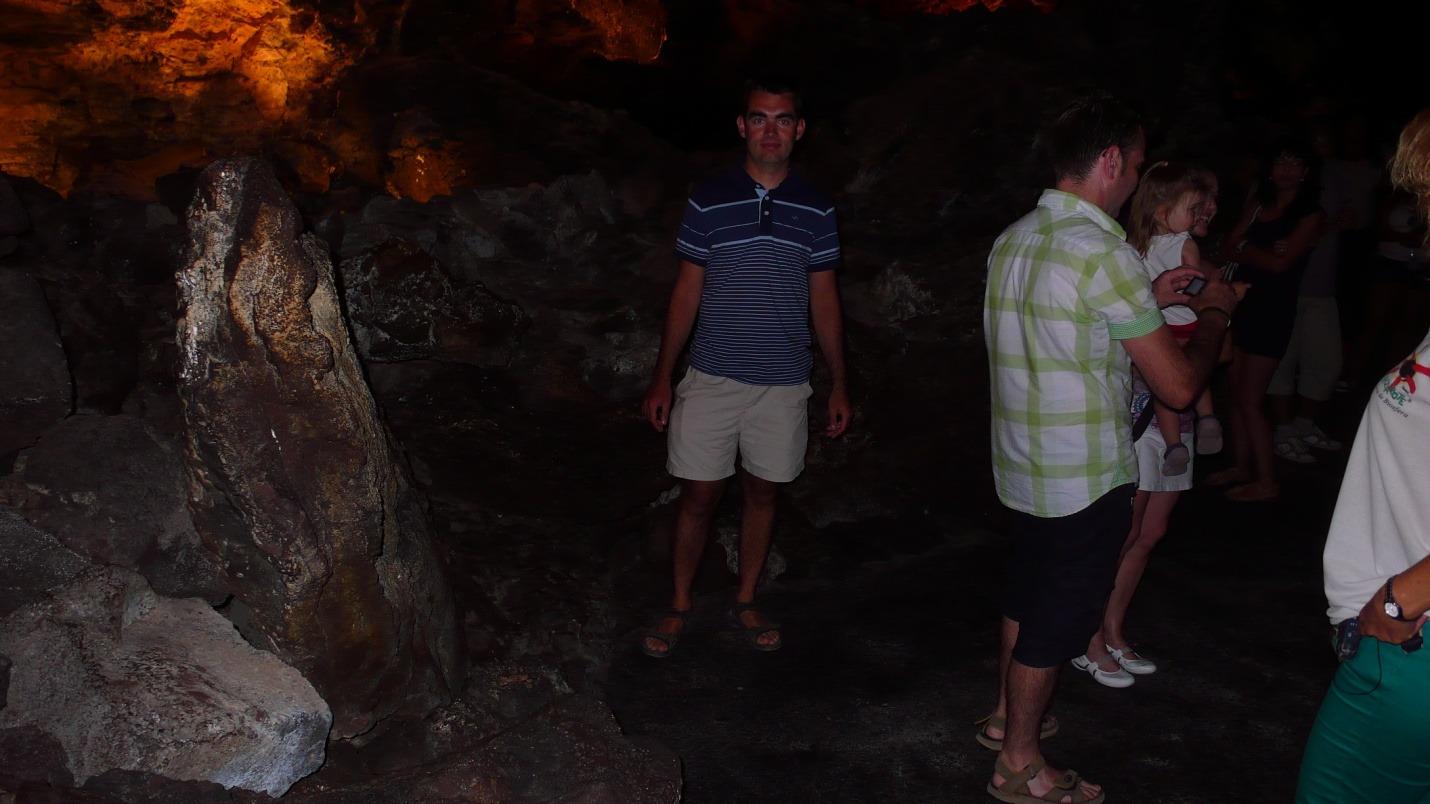 Lanzarote-Cueva de los Verdes-zdjęcia, atrakcje