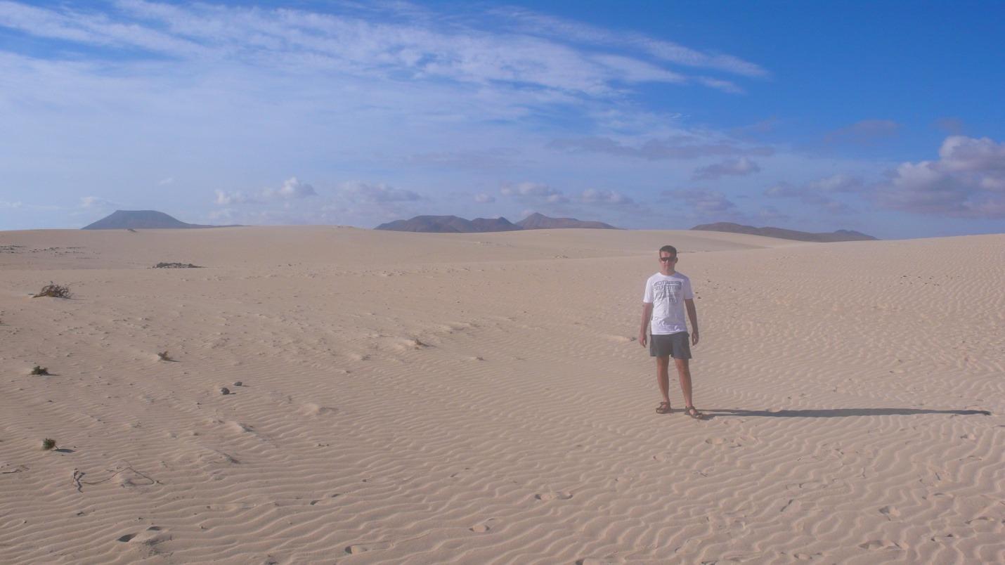 Fuerteventura - Wydmy w Corralejo - zdjęcia, atrakcje