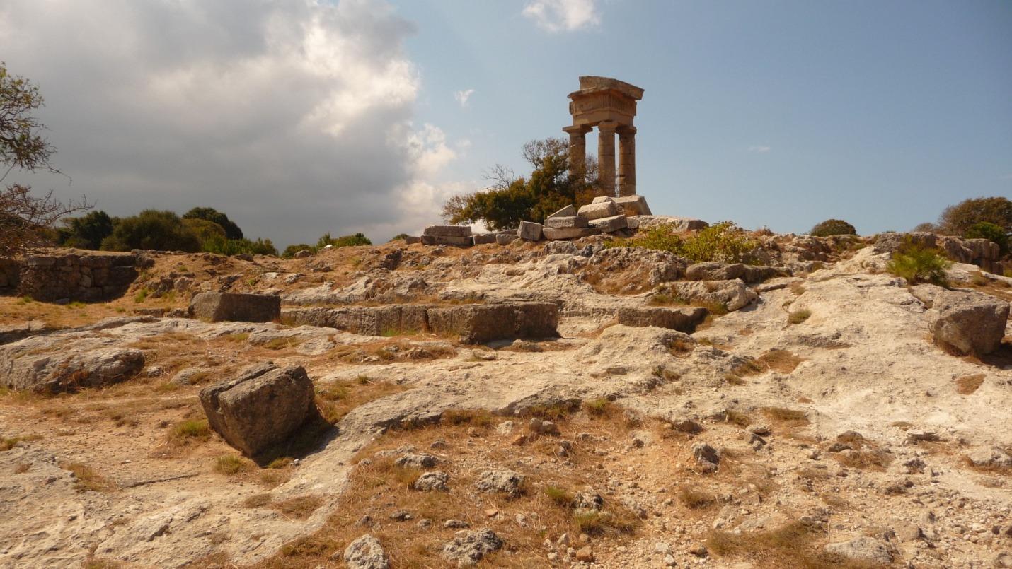 Rodos - Akropol w Rodos - zdjęcia, atrakcje