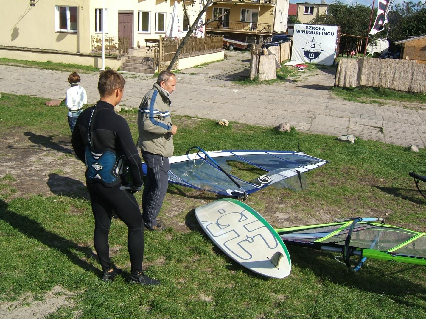 Półwysep Helski - sesja windsurfing - zdjęcia, atrakcje