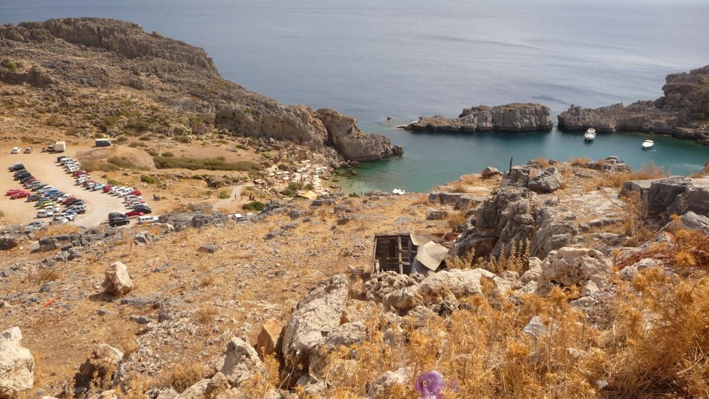 Rodos - Zatoka Św Pawła - zdjęcia, atrakcje