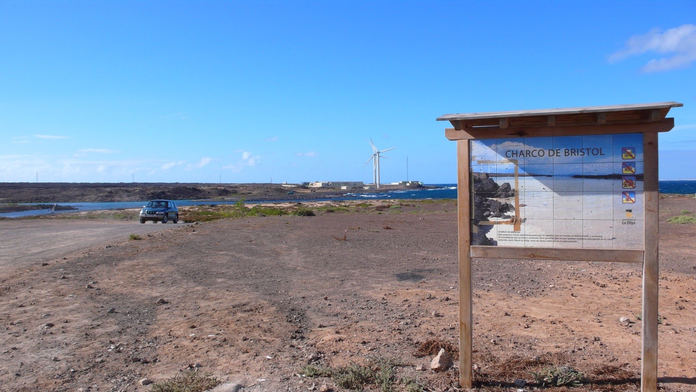 Fuerteventura - Charco De Bristol - zdjęcia, atrakcje