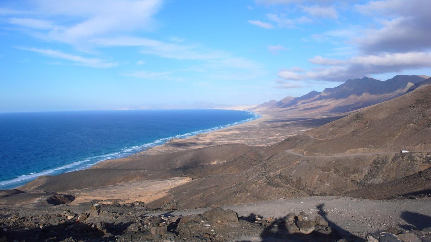 Fuerteventura - Mirador de Cofete - zdjęcia, atrakcje