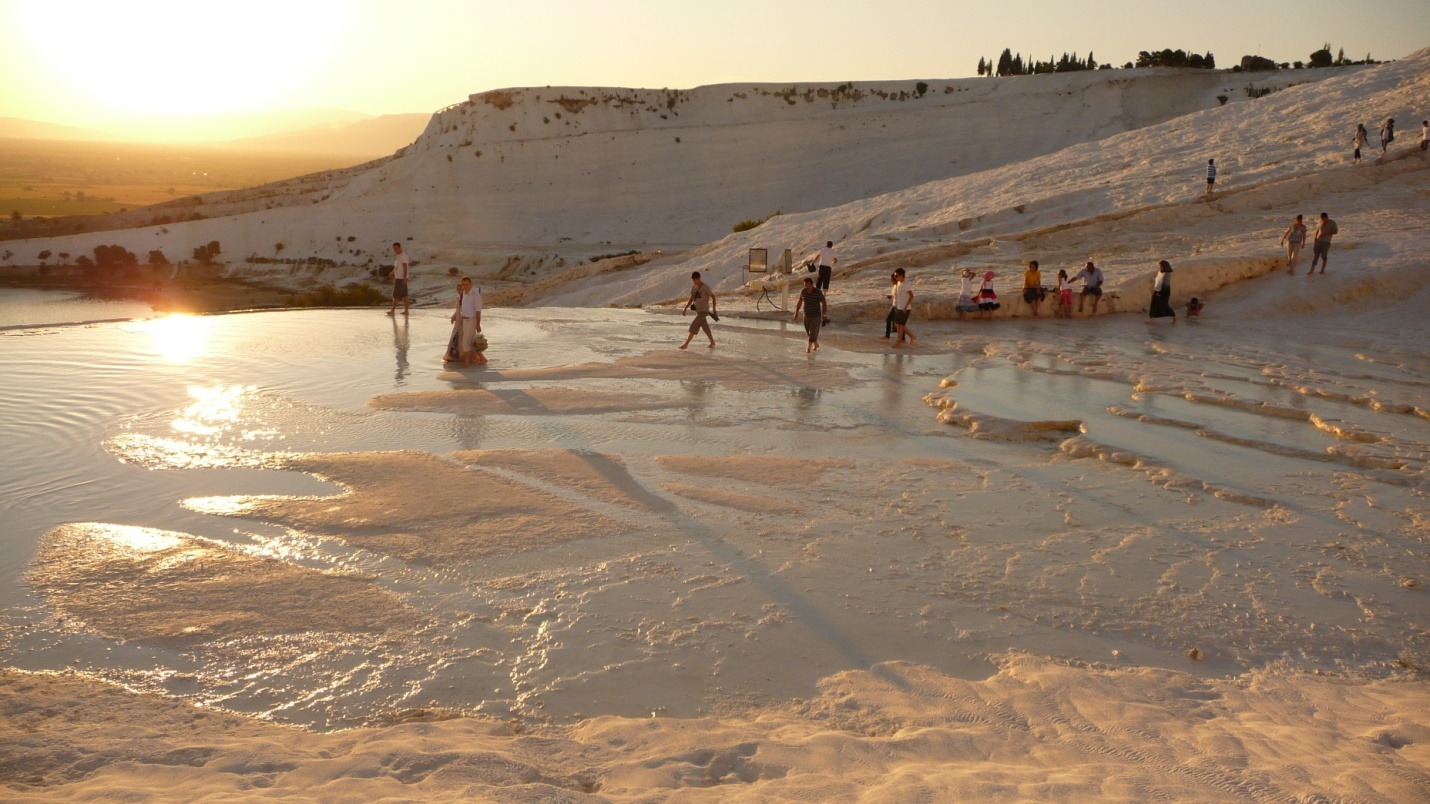 Turcja - Pamukkale - zdjęcia, atrakcje