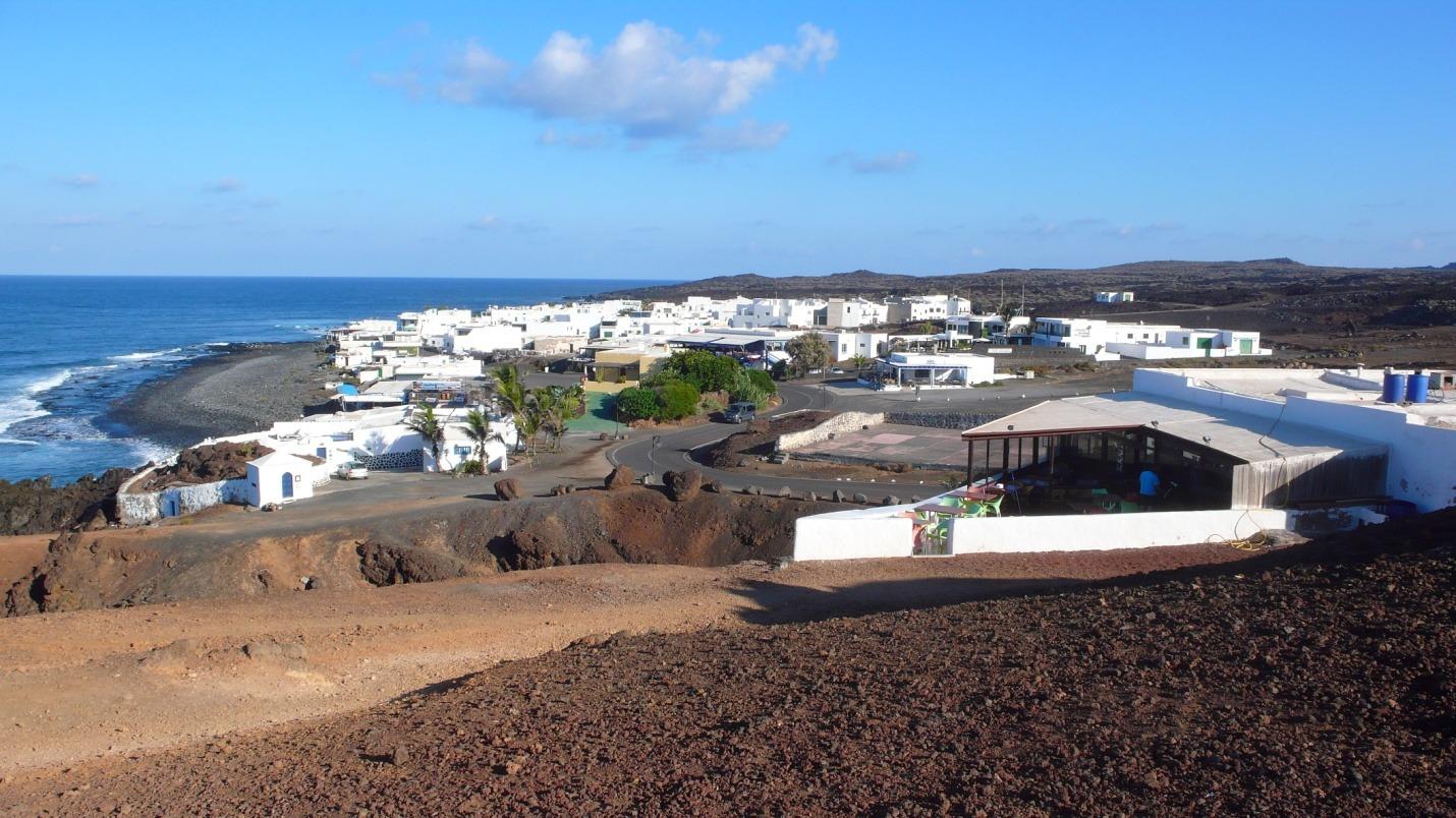 Lanzarote - El Golfo - zdjęcia, atrakcje