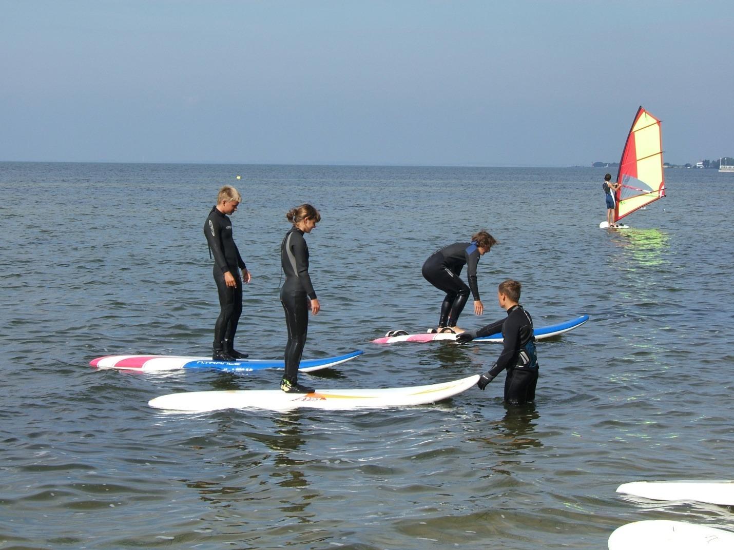 Galeria zdjęć kurs instruktorski vdws sesja windsurfingowa