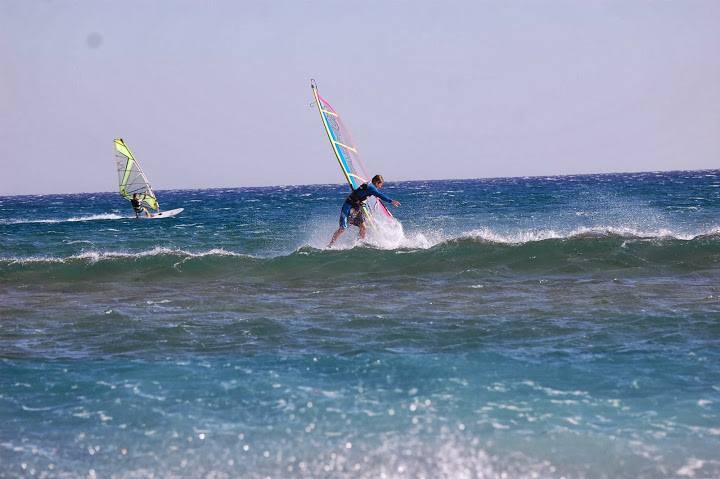 Rodos Prasonisi windsurfing kitesurfing