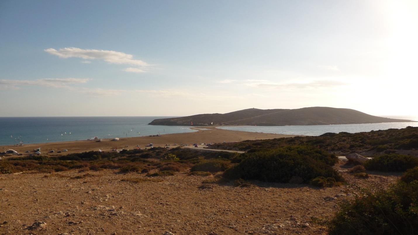 Grecja - Rodos - windsurfing kitesurfing