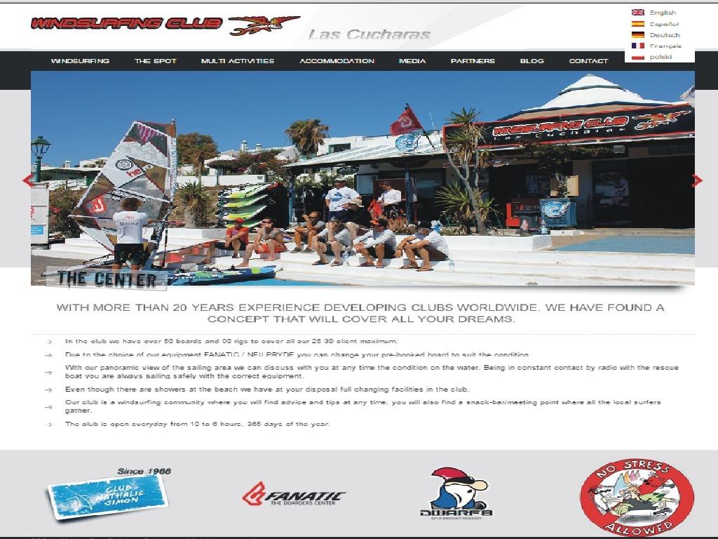 Lanzarote szkoła windsurfing kitesurfing