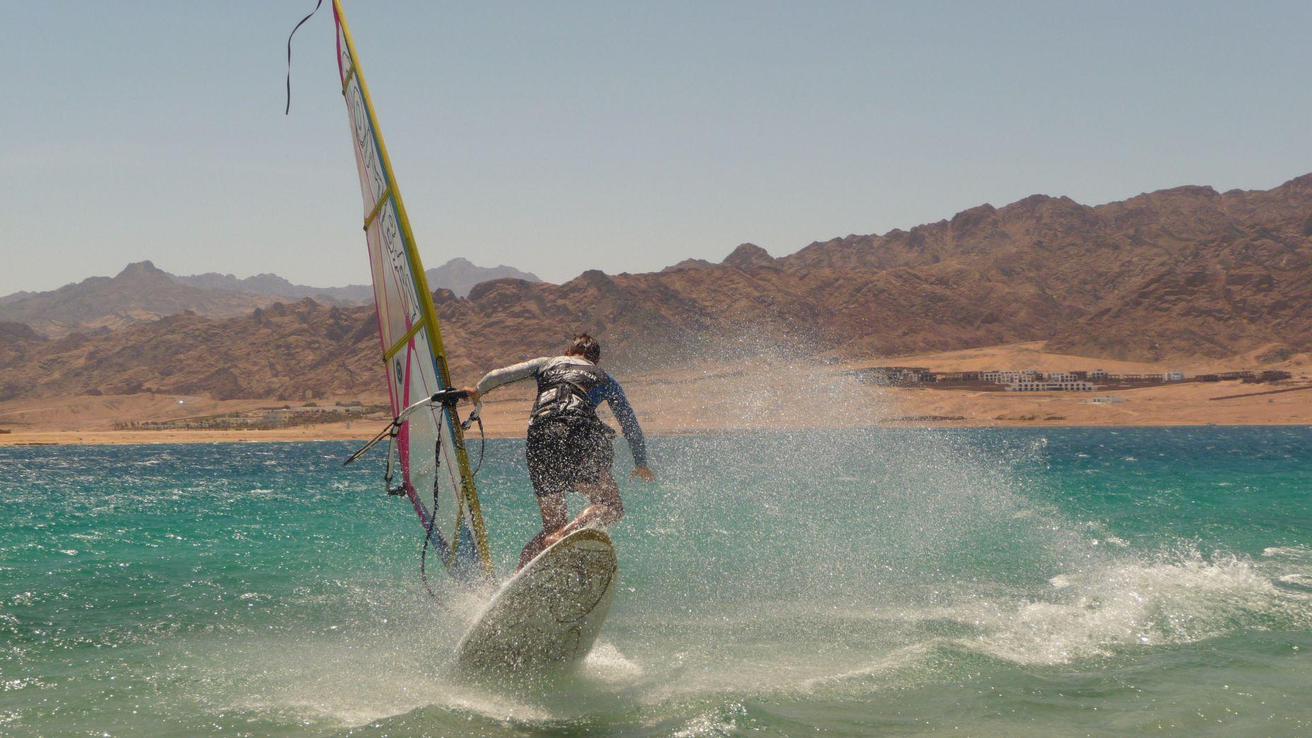 Dahab - sesje freestyle wind/kite - zdjęcia, atrakcje