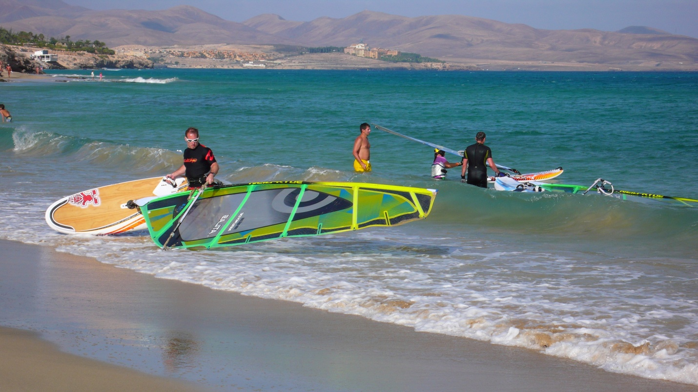 fuerteventura sotavento windsurfing kitesurfing