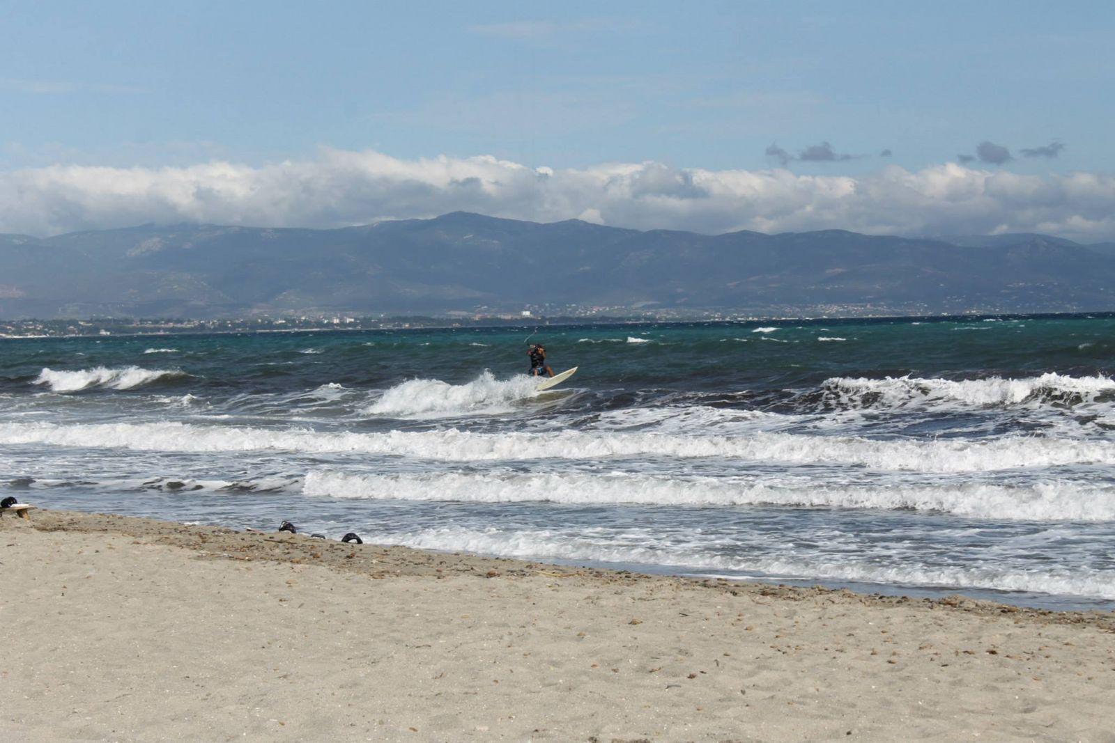 Sardynia Porto Botte windsurfing kitesurfing