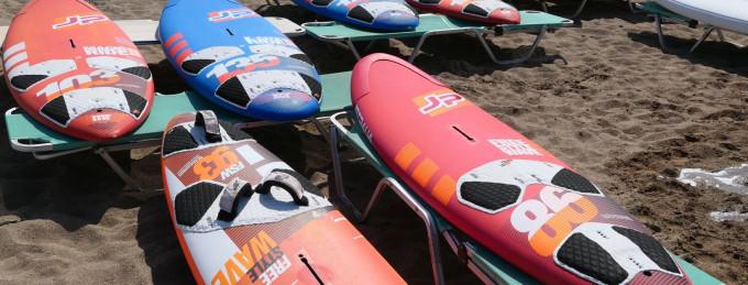 Palekastro Kreta Polska szkoła windsurfingu Surfski